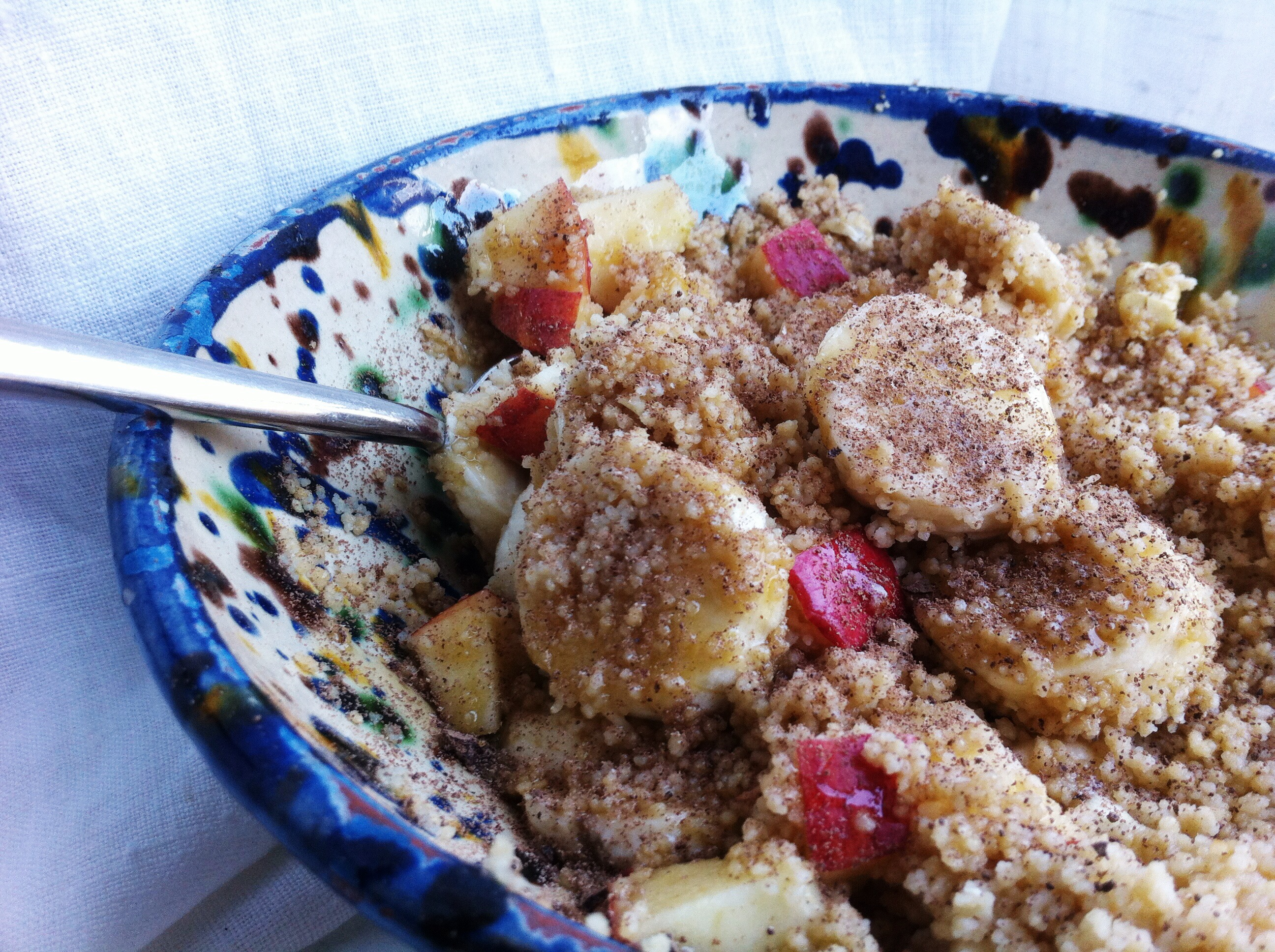 Cacao Couscous for Breakfast